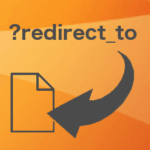 Redirect URL to Post icon
